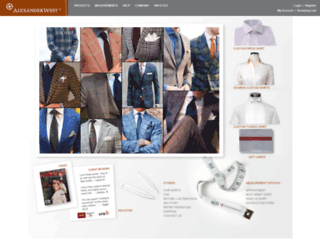 alexander-west.com screenshot