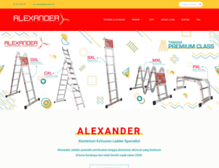 alexander.co.id screenshot