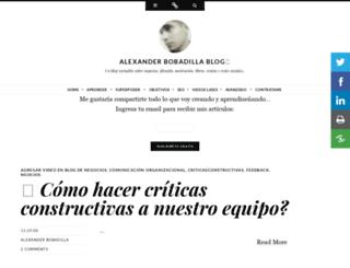 alexanderbobadilla.blogspot.de screenshot