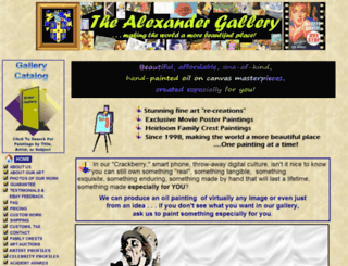 alexandergallery.net screenshot