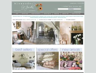 alexanderinteriorsltd.com screenshot