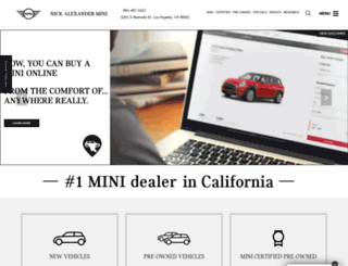 alexandermini.com screenshot