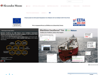 alexandermoore.com screenshot