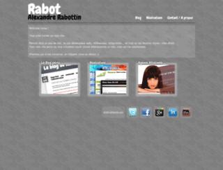 alexandre-rabottin.fr screenshot