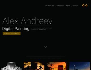 alexandreev.com screenshot