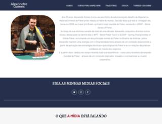 alexandregomes.com.br screenshot