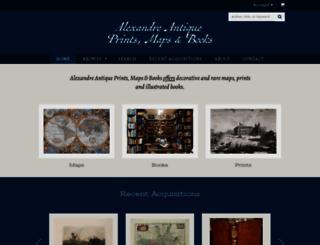 alexandremaps.com screenshot