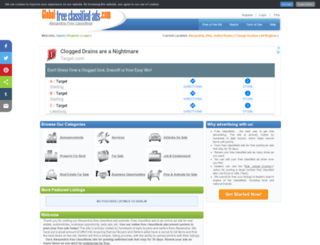 alexandriaoh.global-free-classified-ads.com screenshot