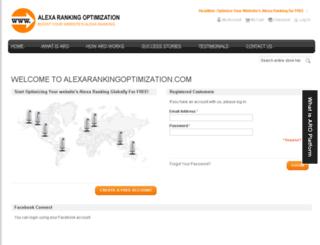 alexarankingoptimization.com screenshot