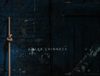 alexchinneck.com screenshot