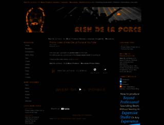 alexdelaforce.com screenshot