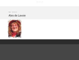 alexdelavoie.com screenshot