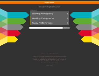 alexdphotography.co.uk screenshot