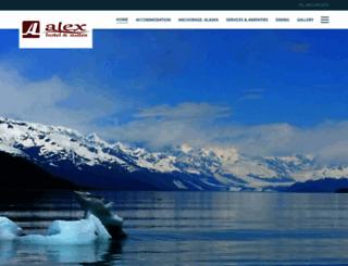 alexhotelalaska.com screenshot