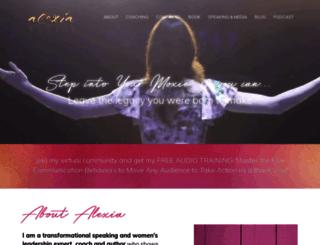 alexiavernon.com screenshot