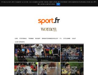 alexisdevende.sport.fr screenshot