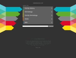 alexisisaac.net screenshot