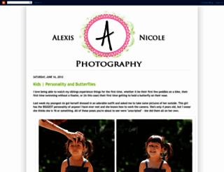 alexisnicolephoto.blogspot.com screenshot