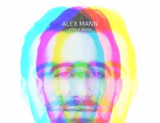 alexjmann.com screenshot