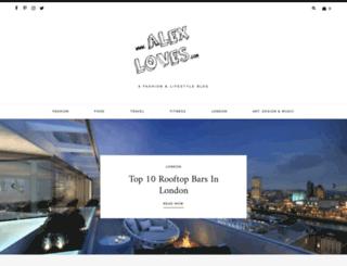 alexloves.com screenshot