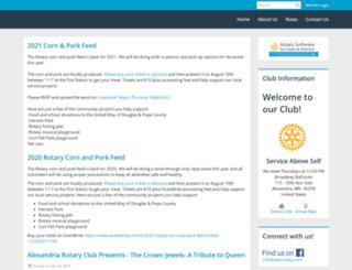 alexrotary.com screenshot