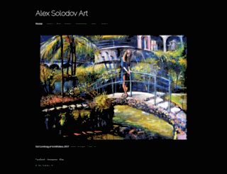 alexsolodov-art.com screenshot