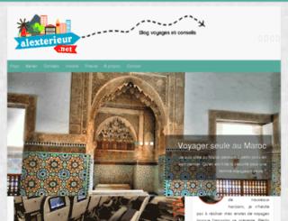 alexterieur.net screenshot