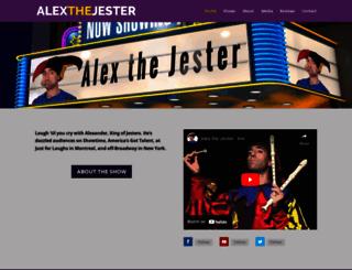 alexthejester.com screenshot