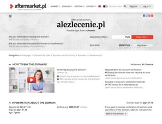 alezlecenie.pl screenshot
