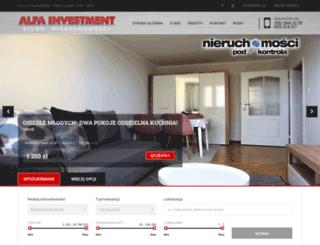 alfa-investment.pl screenshot