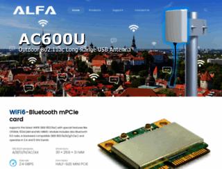 alfa.com.tw screenshot