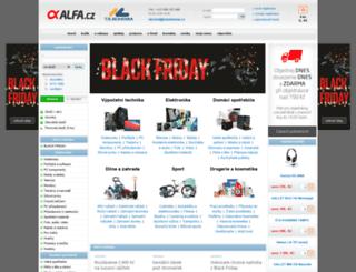 alfa.cz screenshot