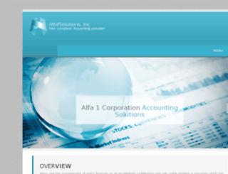 alfa1solutions.com screenshot
