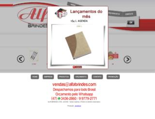 alfabrindes.com screenshot