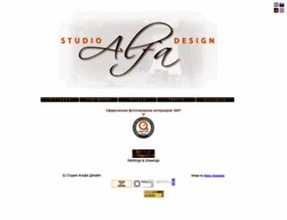 alfadesign007.ru screenshot
