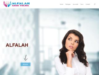 alfalahmeditours.com screenshot