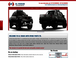 alfanarautoparts.com screenshot