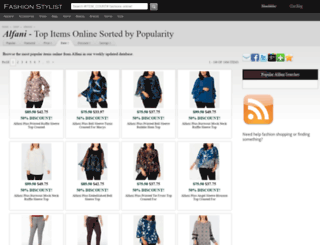 alfani.fashionstylist.com screenshot