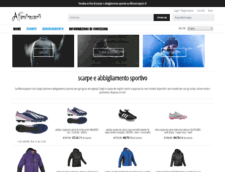 alfanotrasporti.it screenshot