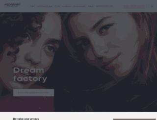 alfaparf.com screenshot