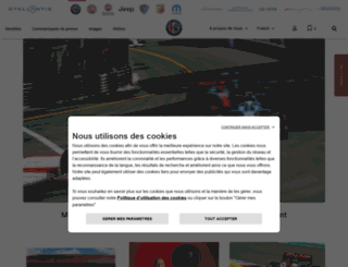 alfaromeopress.fr screenshot