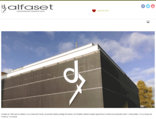 alfaset.ch screenshot