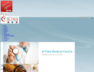 alfidamedicalcentre.greensmedia.com screenshot