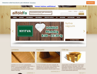 alfoldfa.hu screenshot