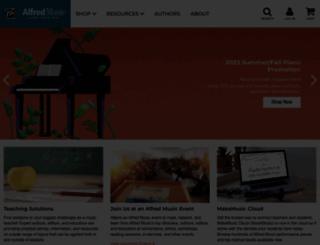 alfred.com screenshot