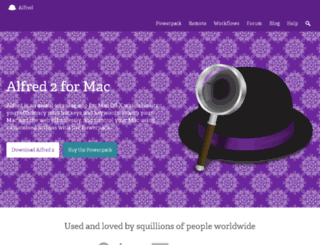 alfredapp.foxycart.com screenshot