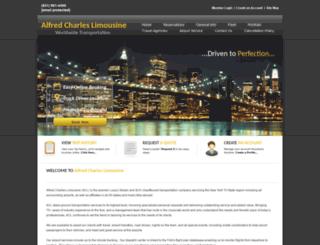 alfredcharleslimo.com screenshot