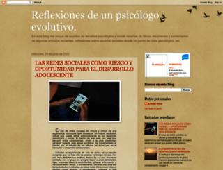 alfredo-reflexiones.blogspot.com screenshot