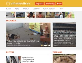 alfredoolivas.org screenshot