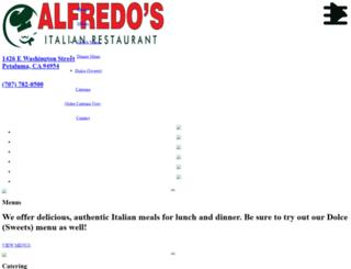 alfredositalianpetaluma.com screenshot